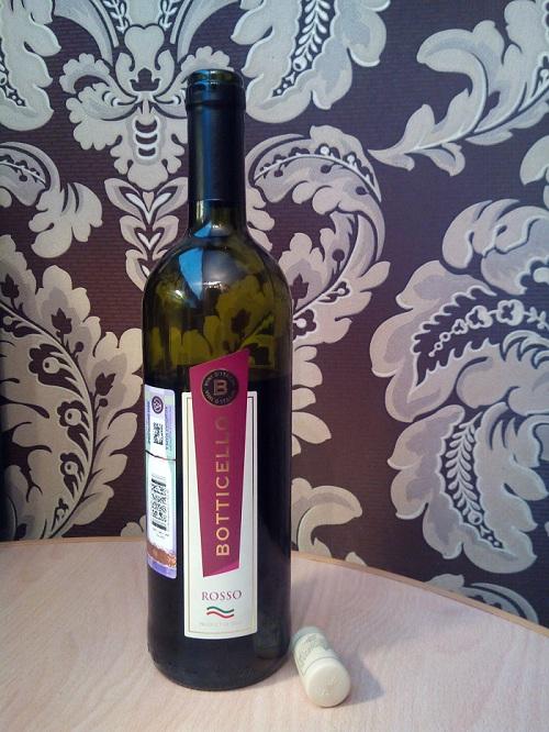 Vino Rosso Botticello