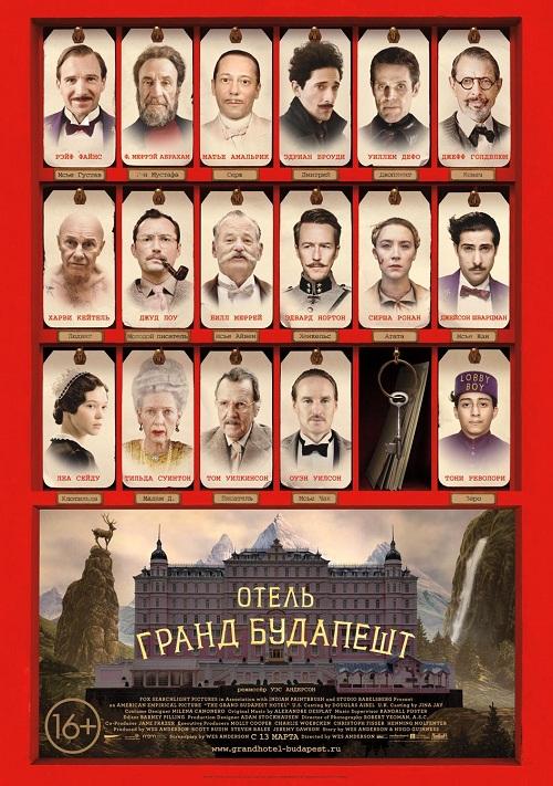 Фильм - Отель Гранд Будапешт